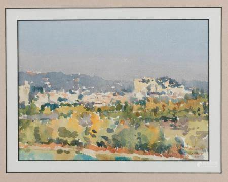 RUPERT RICHARDSON (BORN 1929) Villeneuve Les Avignon 1989