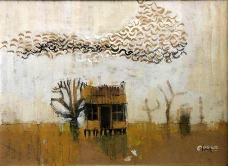 ARTIST UNKNOWN Untitled (Country Shack)