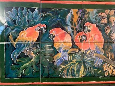 RAE RICHARDS Parrots
