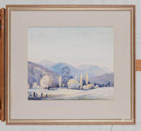 L.P. CURTIS (AUSTRALIAN, 20TH CENTURY) Morning, Howqua Vallery