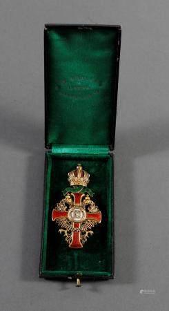 Franz Joseph-Orden, Offizierskreuz mit Kriegsdekoration (KD)