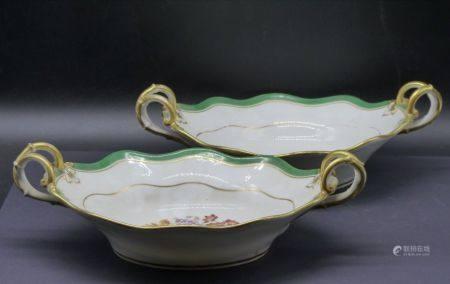 Porcelaine de Paris. Coupes en porcelaine
