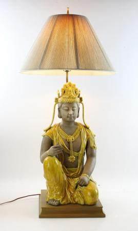 Chinese Yellow Lamp