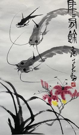 當代 陳大羽 長壽圖
