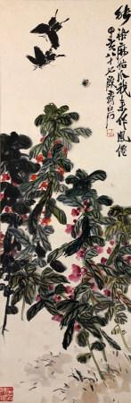 近現代 齊白石 花卉