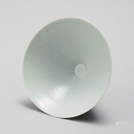 景德鎮窯 南宋 青白瓷鳳凰紋碗