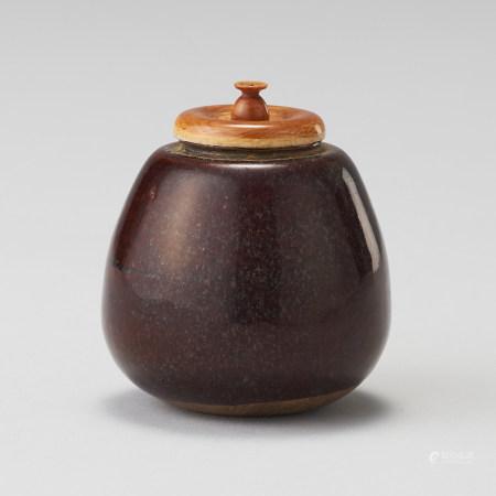 洪塘窯 17世紀 唐物茄子茶入