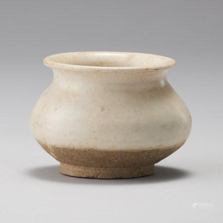 磁州窯 宋代 鉅鹿白瓷壺