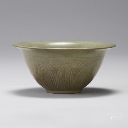 高麗 高麗青瓷蓮弁紋碗