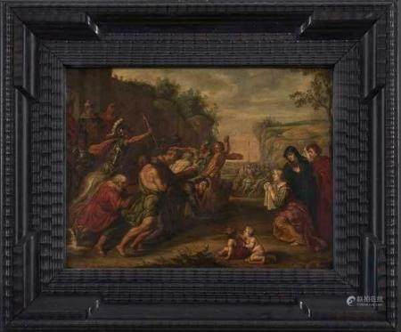 Attribué à Hans III JORDAENS (1595-1643)