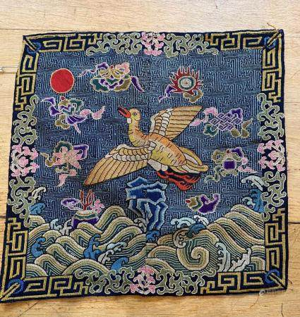 Chinese Flying Goose Rank Badge