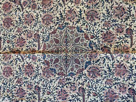 Isfafan Flower and Bird Quilted prayer mat