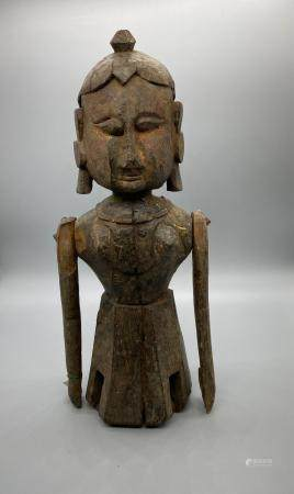Rajasthan Indian Wooden Figure