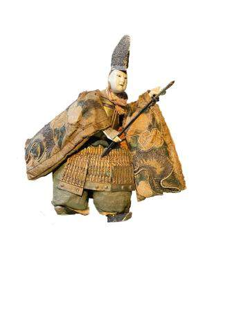Japanese Actor/Samurai Doll, Takeda Ningyo, Osaka Precture