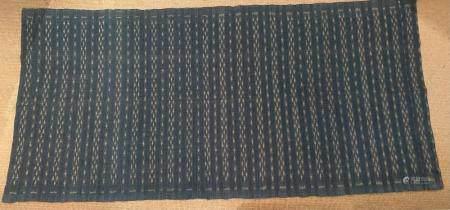 Southeast Asian Cotton Indigo Woven hanging