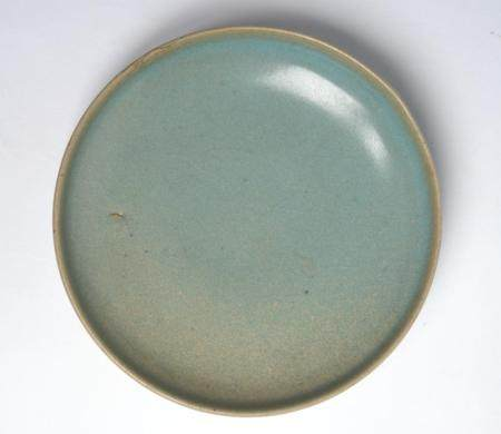 A CHINESE JUNYAO SKY-BLUE DISH NORTHERN SONG DYNASTY (960-1127)