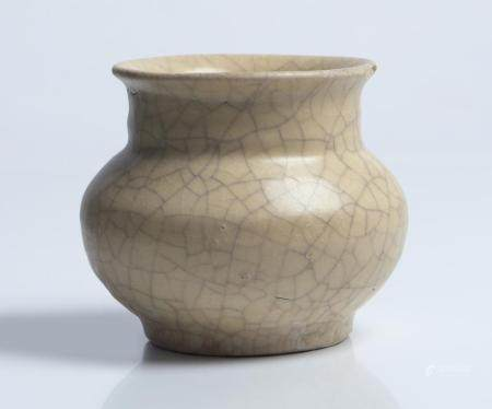 A CHINESE 'GE-TYPE' SMALL JAR SONG DYNASTY (960-1279)