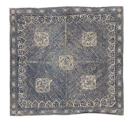 Tulis Batik Indonesian Headcloth, Circa 1900-1920