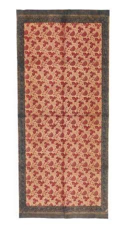 Antique Batik Shoulder Cloth, Indonesia, 19th C.