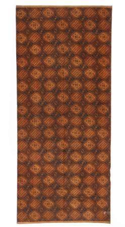 Tulis Batik Kain Panjang Textile, 20th c.