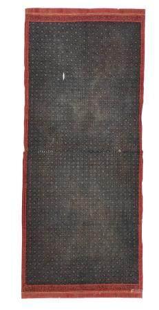 Indonesian Tulis Batik Shoulder Cloth, 19th C.