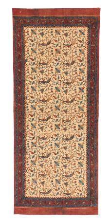Antique Tulis Batik Shoulder Cloth, Indonesia