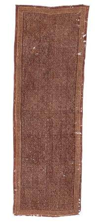 Resist Dyed Textile Wall Hanging, 19th c. or Earlier