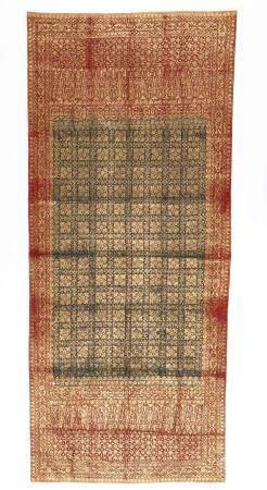 Antique Kain Prada Selendang Batik Skirt Cloth
