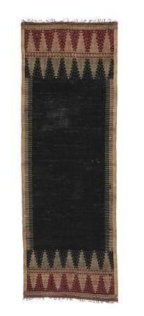 18th/19th c. Indonesian Cotton Shoulder Cloth Textile