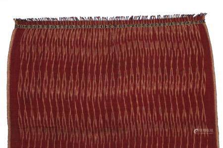 Antique Indonesian Shoulder Cloth with Ikat