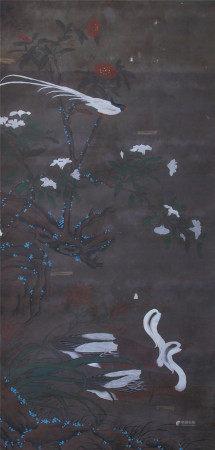 清代 蔣廷錫 花鳥