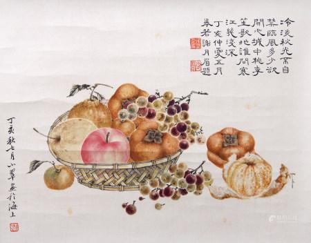 近現代 謝月梅、陳小翠 花卉