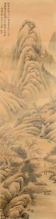清代 王翚 山水