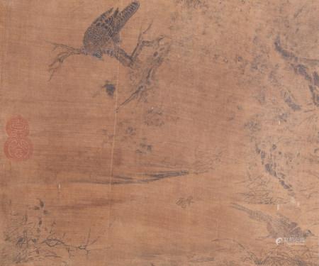 佚名 鷹獵圖
