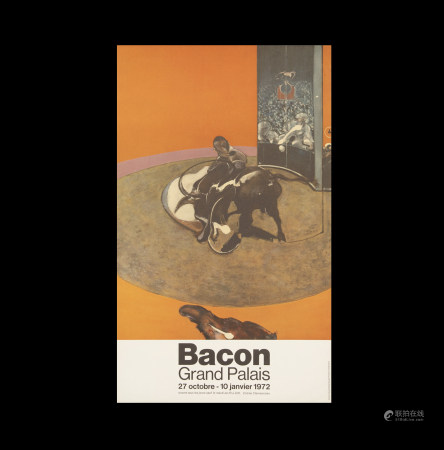 法蘭西斯·培根  展覽海報