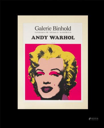 安迪·沃荷  展覽海報