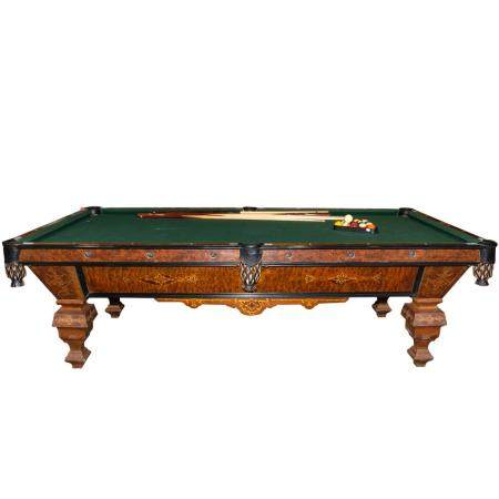 Brunswick Victorian Style Monarch Billiards Table