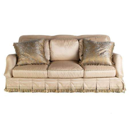 Harden Contemporary 3-Cushion Upholstered Sofa