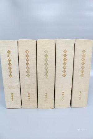 1965 卢浮宫美术馆图录全套五册