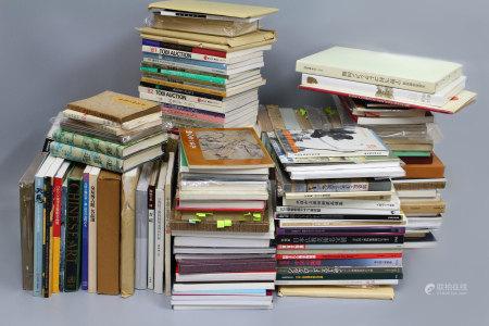 年代不一 日本出版中国日本艺术品著录 共计176本