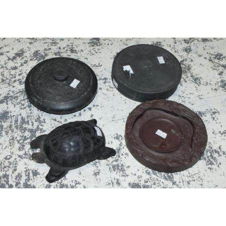 Four Chinese Ink stones