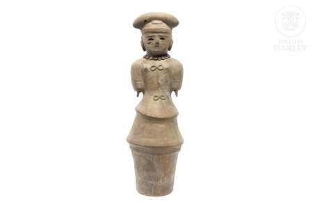 Figura de terracota, Haniwa, Japón, s.XX