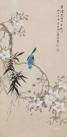 2008年作 吳青霞 花鳥