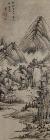 1633年作 王時敏(清) 山水