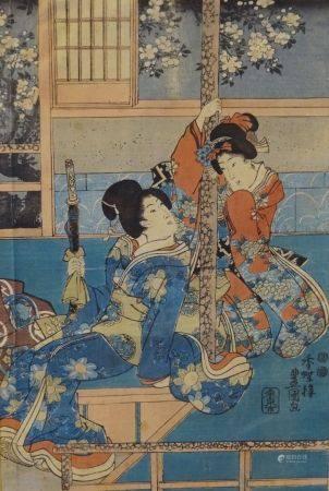 UTAGAWA TOYOKUNI III (1785-1865)