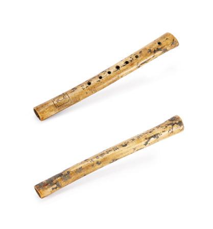 銘文古骨笛