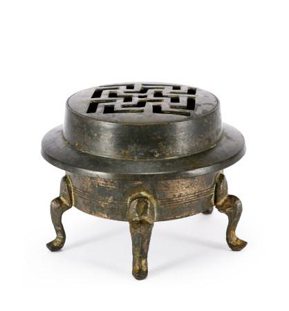唐 多足銅薰爐