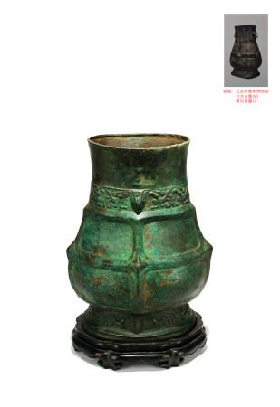 西周 鳳鳥紋青銅壺