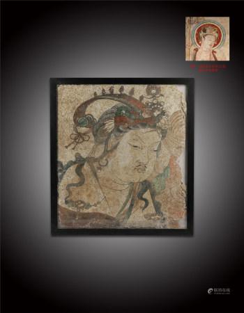 唐 菩薩壁畫像