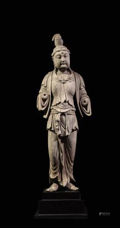 北宋 木雕觀音立像
